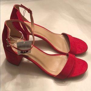 A New Day Michaela Mid Block Heel Pumps Sandals.
